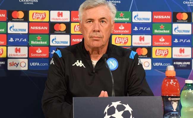 UFFICIALE – Napoli-Genk, Ancelotti domani parla in conferenza stampa: fissato l'orario