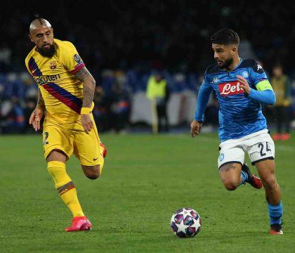 Al ritorno il Barcellona giocherà senza Busquets e Vidal (squalificati)