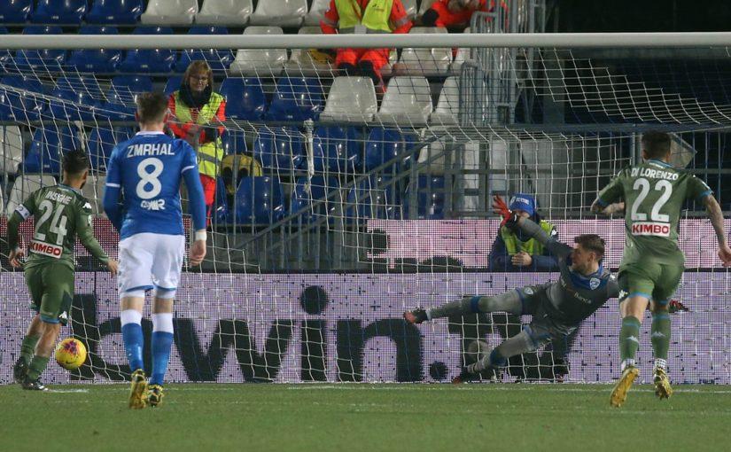 Brescia-Napoli 1-2, il tabellino