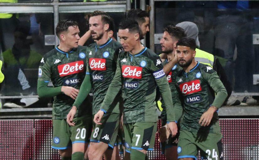 Cagliari-Napoli 0-1: Mertens fa esultare Gattuso