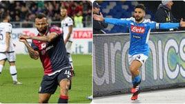Diretta Cagliari-Napoli ore 18: probabili formazioni e dove vederla in tv