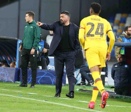 Gattuso: «Non è affatto finita, a Barcellona ce la giocheremo»
