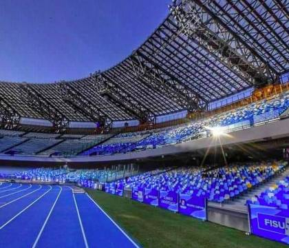 Mediaset: tifosi del Barcellona sorpresi, niente termometri al San Paolo