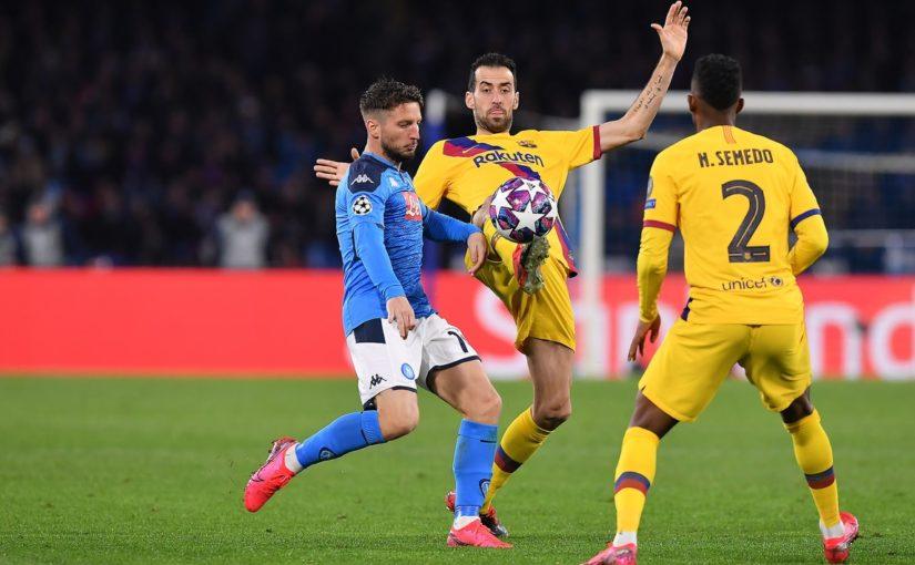 Napoli-Barcellona 1-1, il tabellino