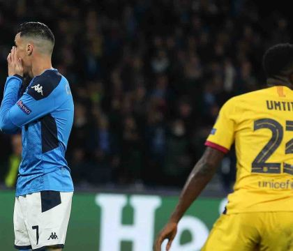 Napoli-Barcellona: Il gol divorato da Callejon che lascia un rimpianto