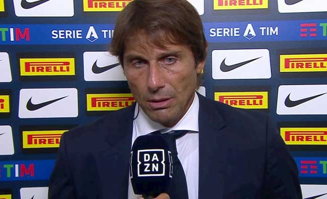 PRIMA PAGINA CORRIERE – Juventus-Inter lunedì per avere il pubblico. San Siro, Conte è solo