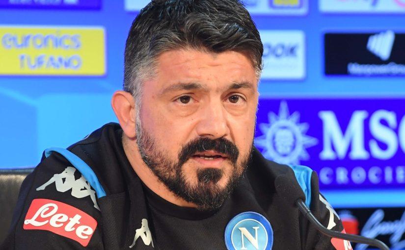 """Gattuso: """"Lozano non si è allenato come dico io e resta a casa"""""""