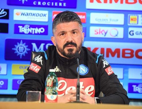 """Napoli-Barcellona, Gattuso: """"Ringrazio Ancelotti e la squadra per questa opportunità"""""""