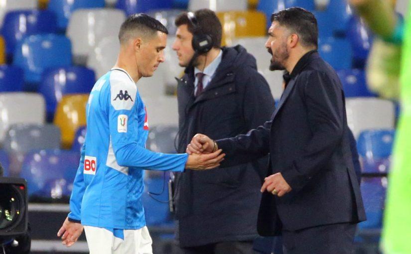 """Napoli, Callejon: """"Gattuso ha tanta cazzimma"""""""