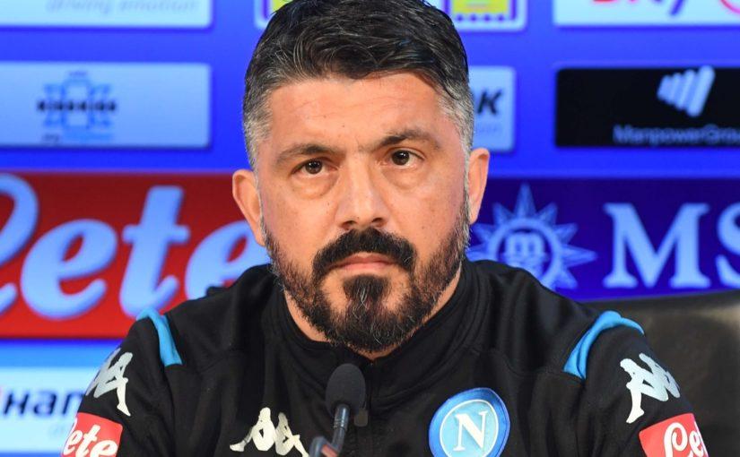 """Napoli, Gattuso: """"Allan? L'ho guardato negli occhi, non ho rancore"""""""