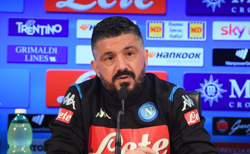 """Napoli, Gattuso: """"Contro il Lecce partita trappola"""""""