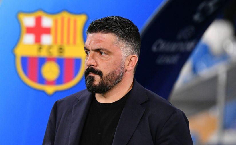 """Napoli, Gattuso: """"Il Barcellona ci ha fatto il solletico, solo un tiro in porta"""""""
