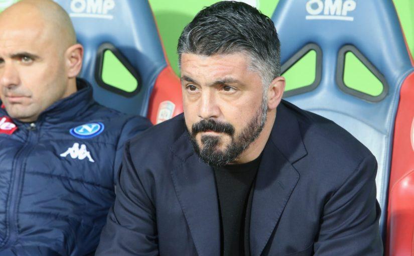 """Napoli, Gattuso: """"Serve continuità. Mertens? Un fenomeno"""""""
