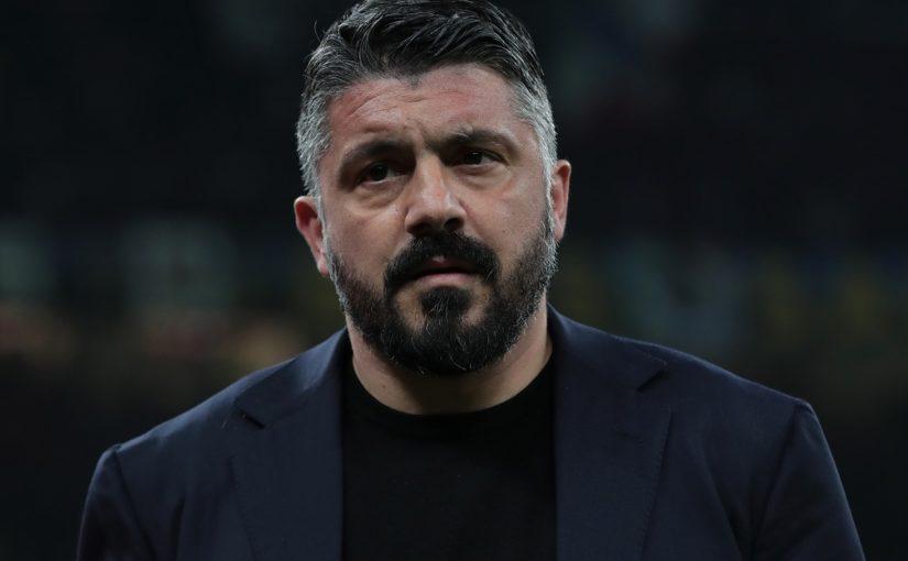 """Napoli, Gattuso: """"Voglio vedere sempre questo atteggiamento. Insigne? Ginocchio gonfio"""""""