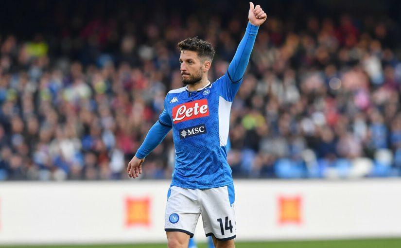 """Napoli, nelle notti """"calde"""" di Coppa Mertens c'è sempre"""