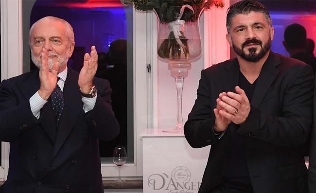 """""""Presidente, deve restare"""", Gattuso sta convincendo De Laurentiis su Mertens. Il retroscena"""