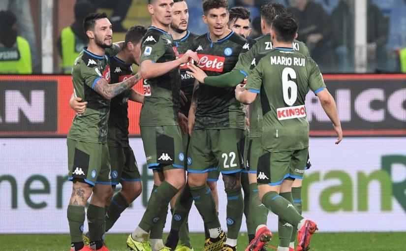 Samp-Napoli 2-4: Gattuso vince ancora e rivede l'Europa