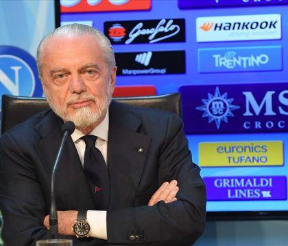 Tuttosport: in settimana De Laurentiis incontrerà i giocatori del Napoli a Castel Volturno