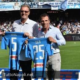 27 gol fa l'ultimo gol di Zola in azzurro: il Napoli lo ricorda con il racconto della sua storia