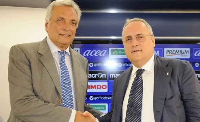 """Lotito: """"Non è la mia vittoria, ma quella del calcio italiano"""". Preziosi: """"Che stranezza a San Siro"""""""