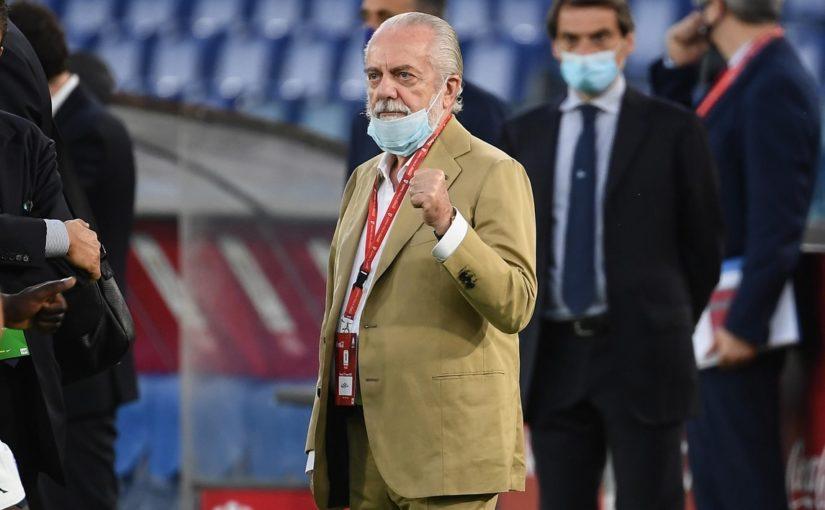 De Laurentiis, sopralluogo in Abruzzo per il ritiro estivo del Napoli