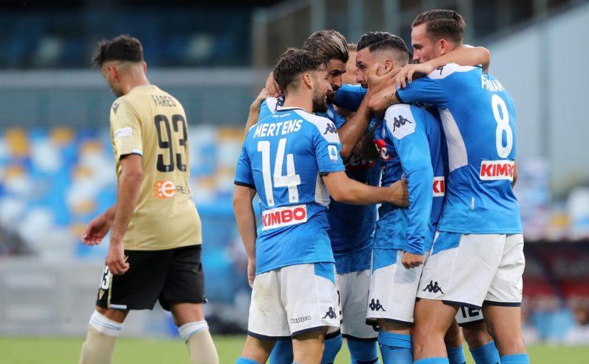 Napoli-Spal 3-1: Gattuso, quinta vittoria di fila