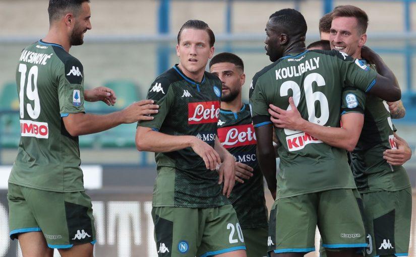 Verona-Napoli 0-2: Milik e Lozano fanno sognare Gattuso