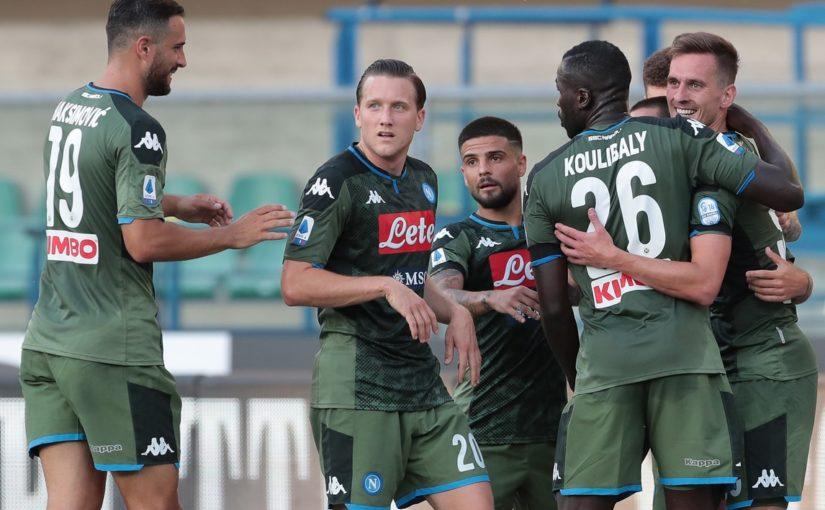 Verona-Napoli 0-2, il tabellino