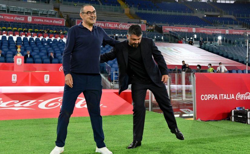 """Galeone boccia Sarri: """"Ha 10 punti meno di Allegri. Gattuso? Ha intortato la Juve"""""""