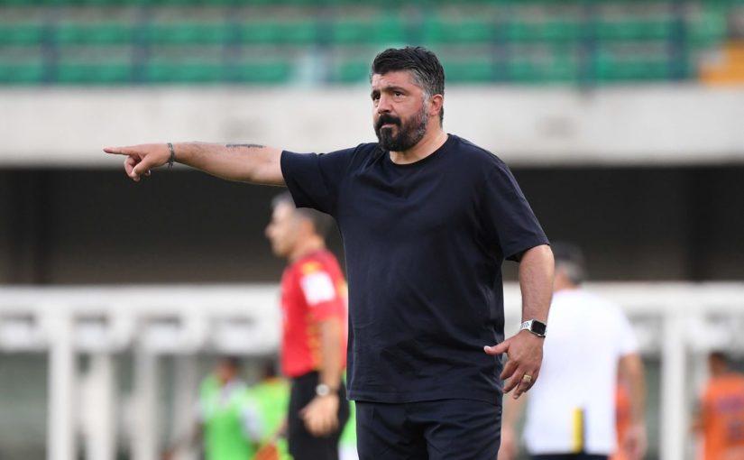 """Napoli, Gattuso: """"Lozano? Era la sua partita, nessun rancore"""""""