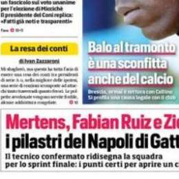 """PRIMA PAGINA – CdS Campania: """"I tre pilastri di Gattuso per aprire un ciclo"""""""