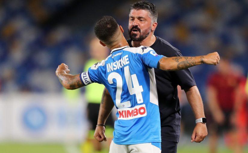 Napoli-Roma 2-1: Gattuso aggancia Fonseca