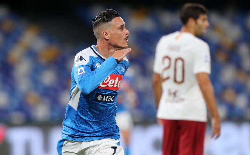 Napoli-Roma 2-1, il tabellino
