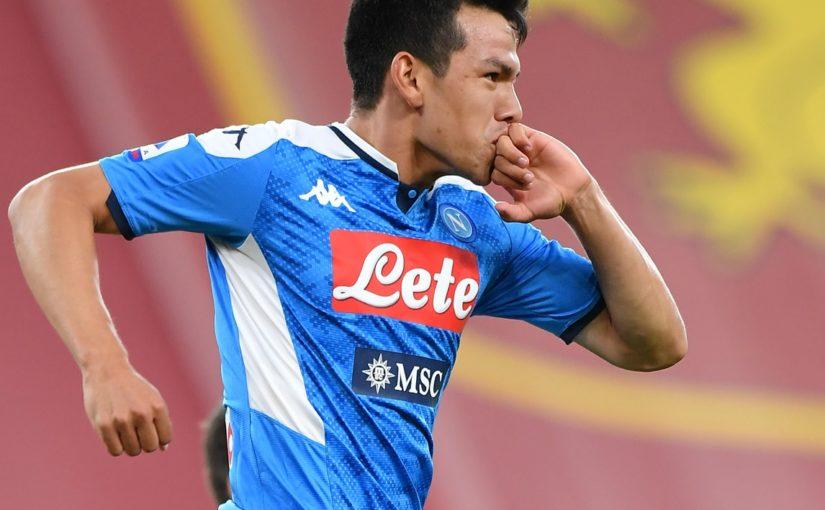 Napoli, ora Lozano fa riflettere il club
