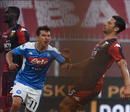 """Per Lozano voti tra il 6,5 e il 7,5. """"Il Napoli ci pensi bene prima di venderlo"""""""