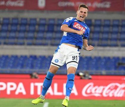 Sky: il Napoli sospetta che Milik abbia già un accordo con la Juventus