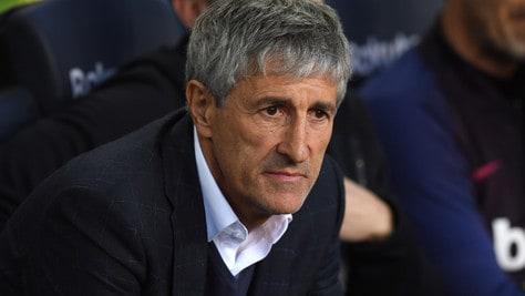 """Barcellona, Setien: """"Sorteggi Champions League? Penso solo al Napoli"""""""