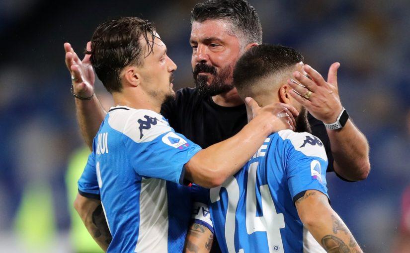 """Napoli, Gattuso: """"Insigne un esempio. Barcellona? Non ci penso, ma…"""""""