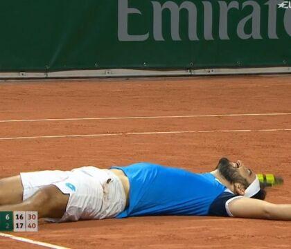 Il napoletano Giustino nella storia del tennis: vince al Roland Garros in 6 ore e 5 minuti