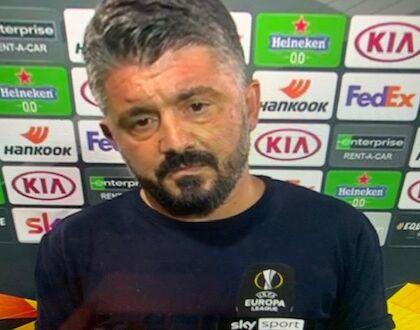 Gattuso: «Gli incidenti di Napoli? Chi governa, deve capire che milioni di persone non se la passano bene»