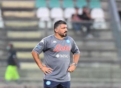 """Gattuso: """"Mughini dice che faccio lo sborone, sbaglia. Abbiamo 12 punti in 4 partite"""""""