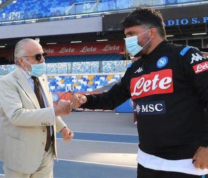 Gazzetta: ha vinto Gattuso, De Laurentiis rinuncia alla penale di 7 milioni