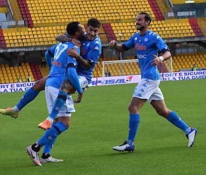 Il Napoli è a punteggio pieno (a parte la sconfitta a tavolino)