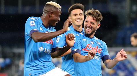 """Mertens: """"Osimhen ha cambiato il modo di giocare del Napoli"""""""