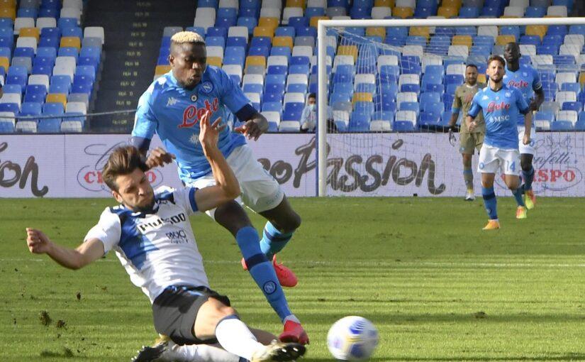 Napoli-Atalanta 4-1, il tabellino