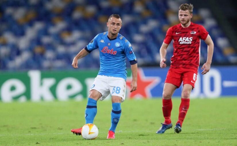 Napoli-Az Alkmaar 0-1, il tabellino