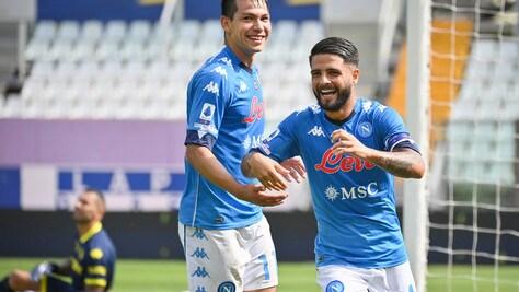Napoli, Insigne torna in gruppo: punta a esserci col Benevento