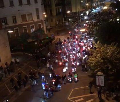 Napoli, arrestati due manifestanti. Stamattina processo per direttissima