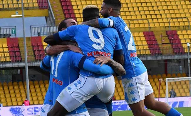 PAGELLE MEDIASET – Benevento-Napoli, Insigne il migliore. Due azzurri non convincono