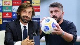 Pirlo e Gattuso unici pokeristi: solo Juve e Napoli su quattro obiettivi